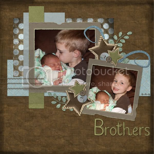 Layout by Dana; Kit by Unforgettable Moments
