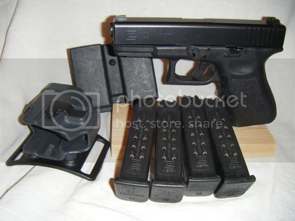 40 cal glock 23